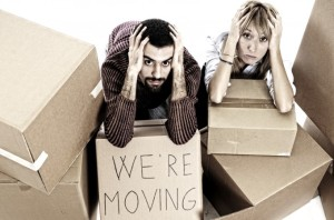 Moving can be one of the most stressful - and unhealthy - times of your life