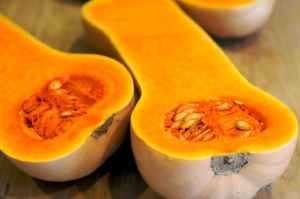 Delicious seasonal butternut squash