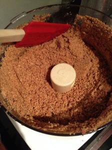 Almond crumb mixture