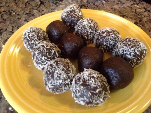 chocolate power balls