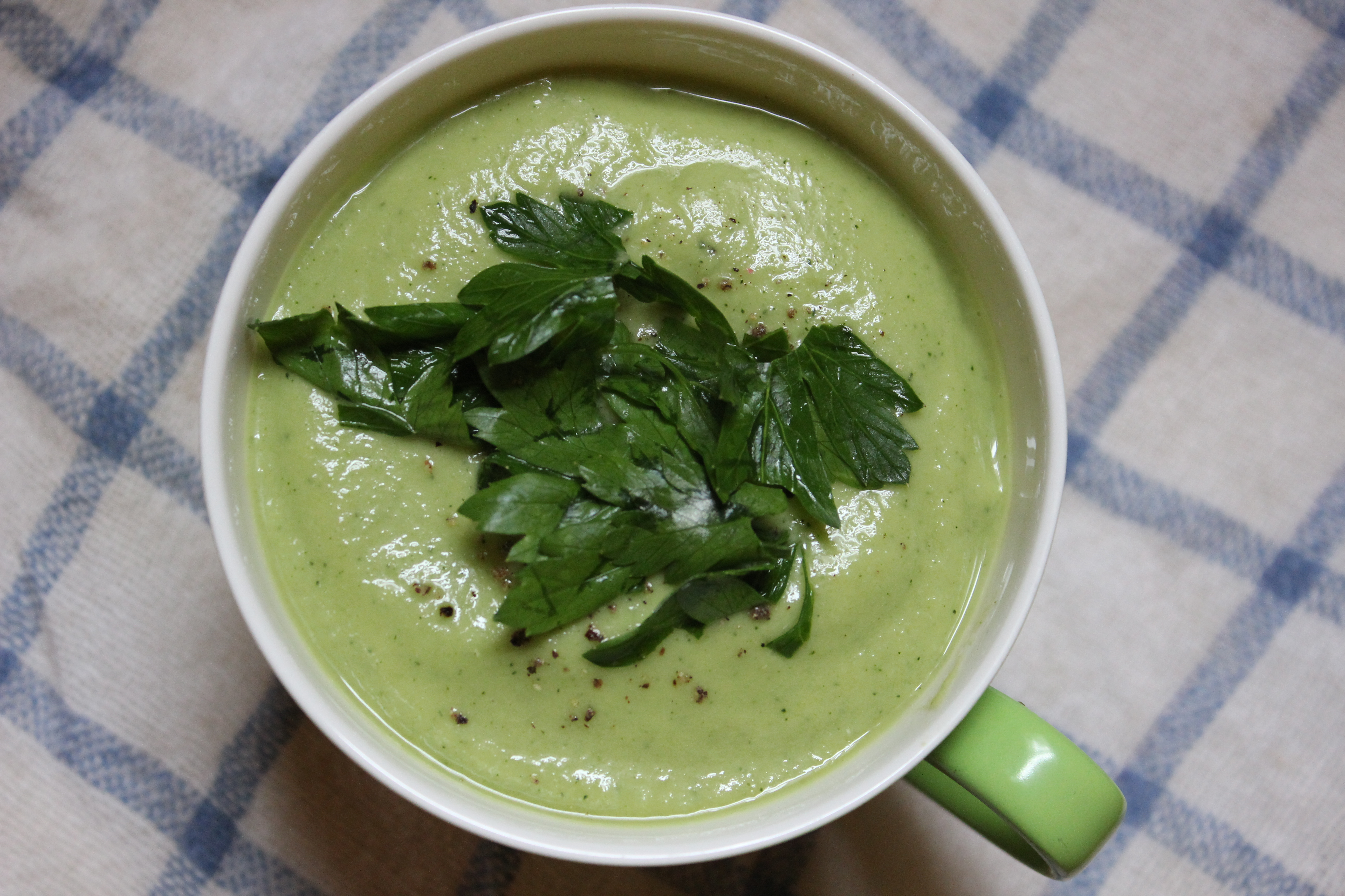 Chilled Zucchini Soup For Sticky Summer Days
