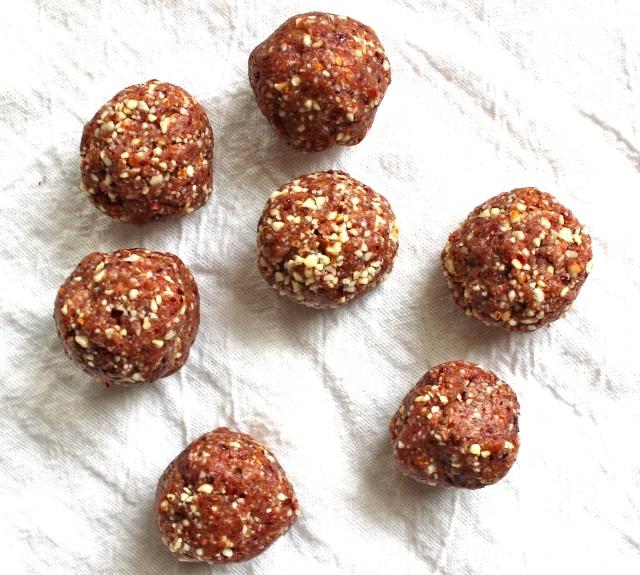 3 ingredient no bake energy balls