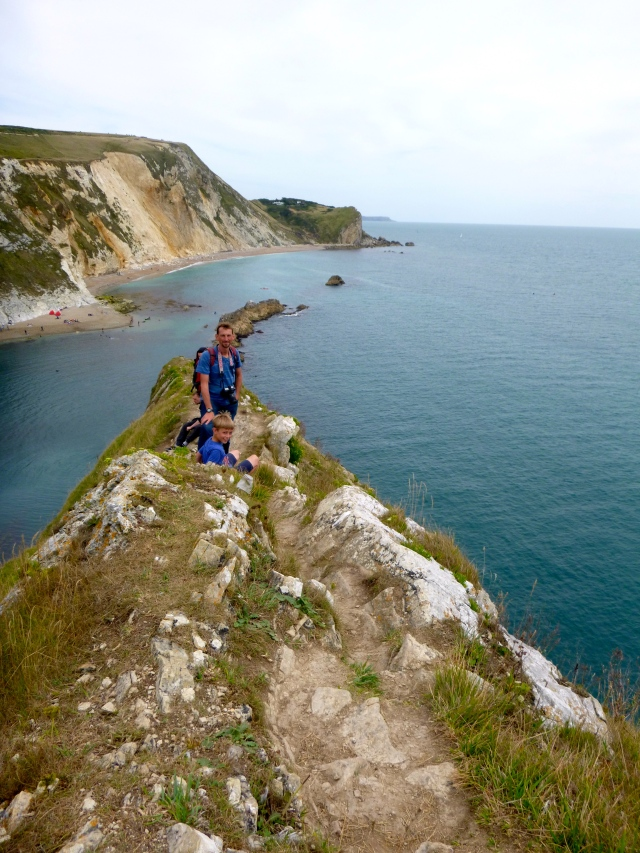 Exploring the English coast with family